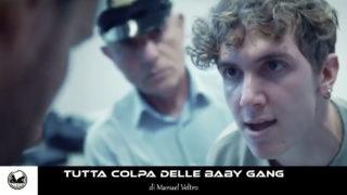 copertina cortometraggio tutta colpa delle baby gang